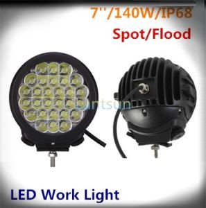 140W Spot/Flood Light LED Work Light Car Light for Jeep pictures & photos