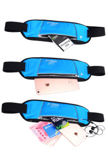 Quality Lycra Waist Cell Phone Bag (MS9057) pictures & photos