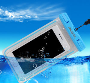 Custom PVC Cell Phone Bag, Waterproof Mobile Bag Case for iPhone pictures & photos