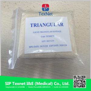 Ce&ISO Approved China Manufacturer Gauze Triangular Bandage pictures & photos
