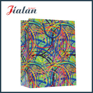 Matte Lamination Wholesales PP Rope Cheap Customize Printed Paper Bags pictures & photos