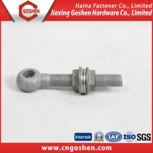 Hot-DIP-Galvanized Eye Bolt Combination with Nut and Washer pictures & photos