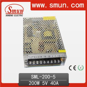 200W 5V 40A Switching Power Supply AC 220V or 110V pictures & photos