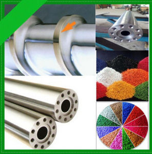 Plastic Granules Bimetallic Screw Barrel for Plastic Extrusion Machine pictures & photos