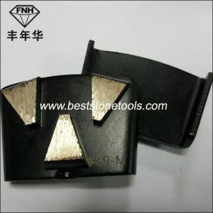 CD-37 Quick Change Concrete Grinding Trapezoid Diamond Segment