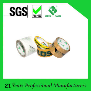 Wholeslae Custom Printed Adhesive Packing Tape (KD-0562) pictures & photos