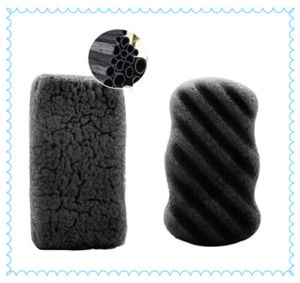 Magic Bamboo Charcoal Face Cleaning Konjac Sponge pictures & photos