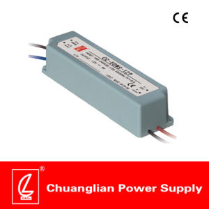 60W IP67 Constant Voltage Plastic Case LED Driver with Pfc