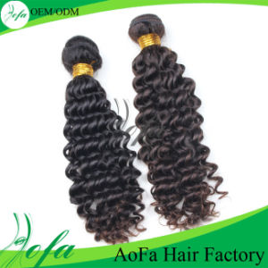100% Unprocessed Natural Virgin Hair Remy Human Hair Extension pictures & photos