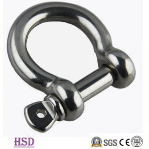 Rigging Hardware Stainless Steel316 D Type Shackle for Fastener pictures & photos