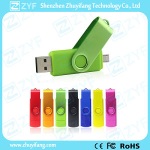 Suit Swivel 16GB OTG USB for Android Phones (ZYF1627) pictures & photos