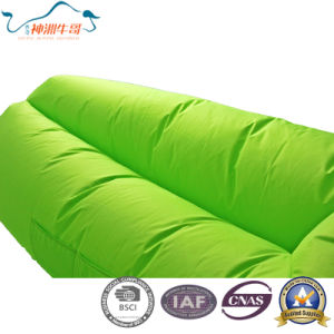 Inflatable High Quality Outdoor Air Sleeping Sofa Bag pictures & photos