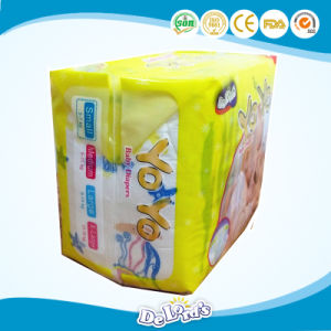 Breathable Soft Valcro Tape Disposable Baby Diaper pictures & photos