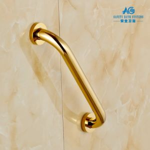 Stainless Steel Safety Straight Grab Bar with PVD God Plated pictures & photos