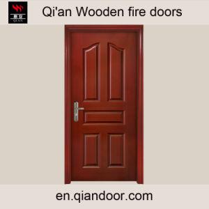 Oak Veneer Heat-Insulated Wooden Door pictures & photos