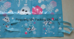 Waterproof Promotion Multi Color Printing Picnic Beach Mat with Handle pictures & photos