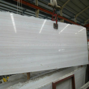 Decoration Stone Rainbow Wooden Vein Marble Slabs for Countertop/Tile
