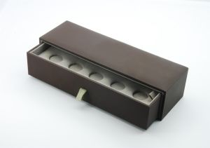 Soft Touch Paper Cardboard Sleeve ABS Plastic Drawer Box for American Style