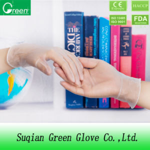 Hospital Product Disposable Vinyl Gloves pictures & photos