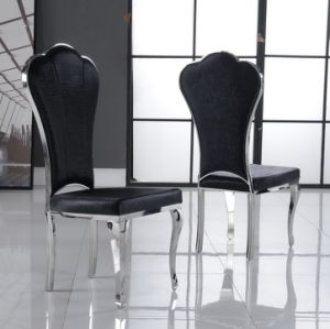 Black Tiger PU Leather Dining Chair pictures & photos