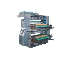 Muli Color Plastic Flexographic Printing Machine pictures & photos