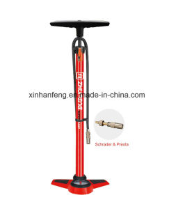 High-Quality Bicycle Hand Pump for Bike with Gauge (HPM-007) pictures & photos