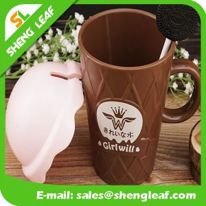 OEM Design Promotion Gifts Plastic Travel Mug (SLF-PM019) pictures & photos