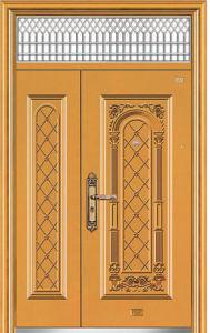 Steel Door Single Entrance Safety Door in China Export (9139) pictures & photos