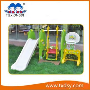 New Style Kids Indoor Slide Plastic Playground Slide for Sale pictures & photos