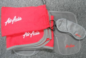 Air Asia Travel Blankets pictures & photos