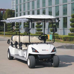 Modern 6 Passengers Electric Golf Car Wholesale (DG-C6) pictures & photos
