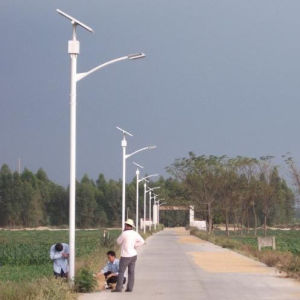 Outdoor 30W LED Solar Street Light with CE, RoHS, CCC Approval pictures & photos