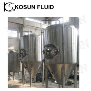 1000L Cooling Water Jacket Beer Conical Fermenting Fermentor pictures & photos