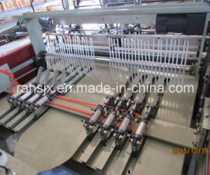 Automatic 2 Track Color Bag Cutting Machine pictures & photos