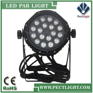 Waterproof/Outdoor 18X10W RGBW\LED PAR Can Light pictures & photos