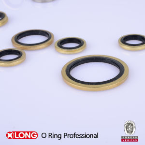 Flexible Rubber Plus Metal NBR/FKM/EPDM Bonded Seal pictures & photos