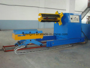 8 Tons Steel Hydraulic Uncoiler with Coil Car pictures & photos