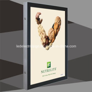 Crystal Glass Wall Frame with LED Display Acrylic Board pictures & photos