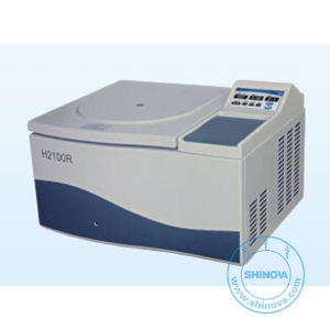 Tabletop High Speed High Capacity Refrigerated Centrifuge (H2100R) pictures & photos
