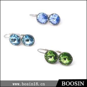 Very Beautiful Blue Crystal Earrings at Factory Price Wholesale #21712 pictures & photos