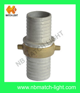 Aluminium Pin Lug Hose Coupling with Brass Nut pictures & photos