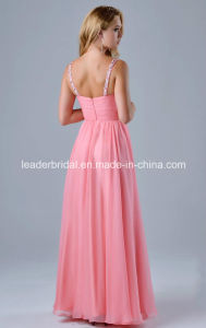 Chiffon Party Dress Prom Gown Vestidos Diamante Beading Evening Dresses B15295 pictures & photos