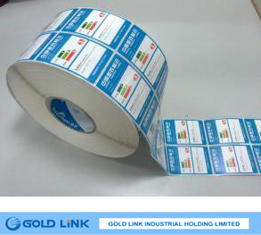 Adhesive Art Paper Sticker with Different Specifications