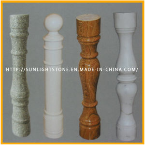 Natural Stone Red/Grey/White Granite Marble Stone Baluster for Railing pictures & photos