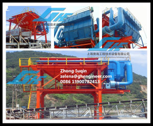Rail-Type Movable Industrial Hopper for Port Equipment Unloading Bulk Materials pictures & photos