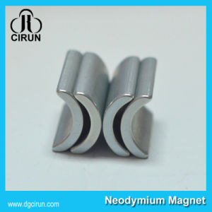 Super Strong Sintered Arc Shape Neodymium Magnet for Motor pictures & photos