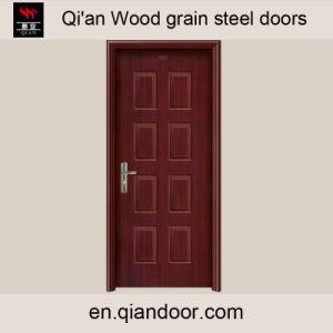 Wood Grain Galvanized Steel Door with Perlite Board pictures & photos