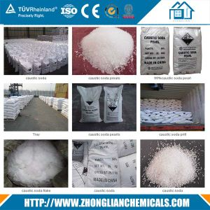 Caustic Soda Flakes Sodium Hydroxide 1310-73-2 pictures & photos