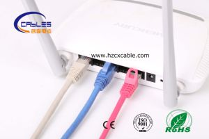 China High Quality RJ45 Cat 7 SSTP F/FTP Patch Cord (WD1B-009) pictures & photos