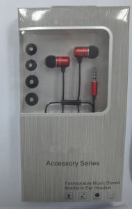 Fashion Design Earphone with Many Colors Available pictures & photos